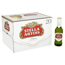 Stella Artois Lager Bottle, 20 x 284 ml