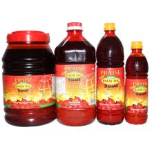 African Red Palm Oil with  Carotene  and  Vitamin ///.