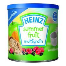 Heinz Baby Tub and Scoop Summer Fruit Multigrain Cereal 1
