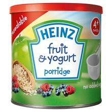 Heinz Baby Tub and Scoop Fruit and Yogurt Porridge, 240 g