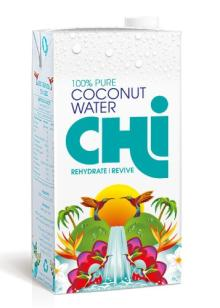 Chi 100%  Pure  Coconut  Water  1 Litre (Pack of 12)