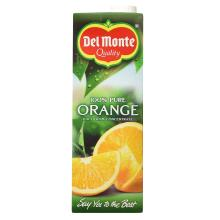 Del Monte 100% Pure Orange Juice from Concentrate, 1l