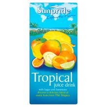 Sunpride Tropical Juice Drink, 1l