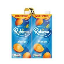 Rubicon Still Mango Juice Drink Cartons, 4 x 1 L