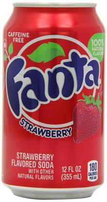 Fanta Strawberry 355 ml (Pack of 12)