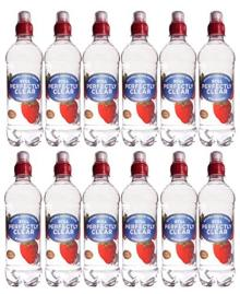 Perfectly Clear Still Strawberry Flavoured Water 500ml x 12