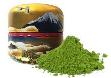 Japanese Organic Matcha Green Tea. Finely ground highest quality green tea. JAS and UTZ certified.