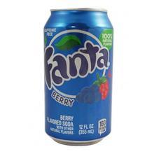 Fanta Berry 12 FL OZ (355ml) 12 Cans