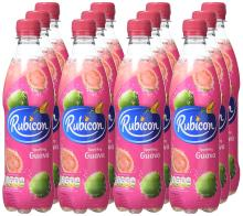 Rubicon Sparkling Guava Juice Drink Bottles, 500ml - Pack of 12