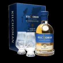Machir Bay - Kilchoman - Islay Single Malt 46%vol Coffret 2 Verres