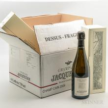 Jacquesson Champ Cain 2004, 6  bottle s (individual ogb)