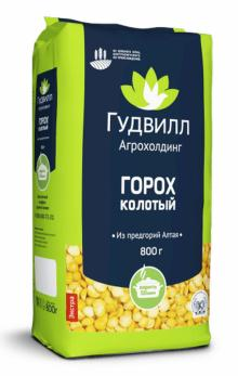 Split Peas premium quality packed into soft pack 800g
