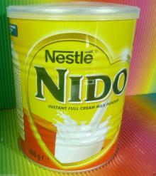 NESTLE NIDO TIN 400g INSTANT FULL CREAM MILK POWDER,