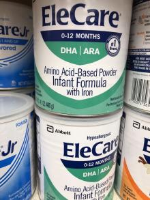 2-14-1oz-cans-EleCare-for-Infants-with-DHA-ARA-NEW