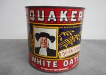 Quaker White Oats Tin (500gm)