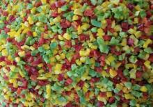 Frozen pepper cubes