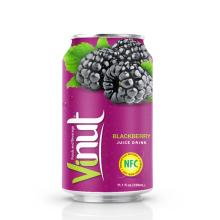 330ml Canned Blackberry juice drink