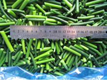 Замороженные овощи из зеленого ростка чеснока