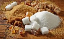 White beetroot sugar
