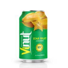 330ml Canned Star Fruit juice drink