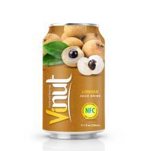 330ml Canned Longan juice drink