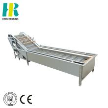 Fruit and vegetable cleaning machine industrial vegetable washer for potato / carrot / apple / pear