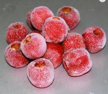 frozen hawthorn berry healthy food frozen fruit