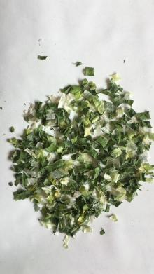 Dehydrated Green Chives Flakes as Instant Noodles Material