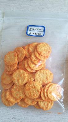 corn crackers and rice crackers