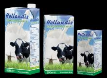 HOLLANDIS SEMI SKIMMED FRESH UHT MILK - 0.2 L
