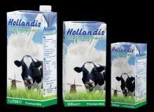 HOLLANDIS SEMI SKIMMED FRESH UHT MILK - 0.2 L