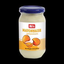 MAYONNAISE PREMIUM (60% FAT 8oz,16oz,1Gallon)