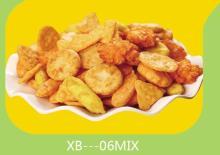mixed rice crackers