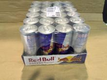 Redbull Energy Drink Available