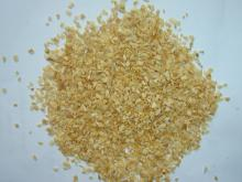 garlic granule with root material