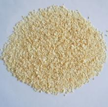 Organic creamy white garlic granules exported to Japan, European countries