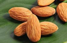 Raw Almonds.