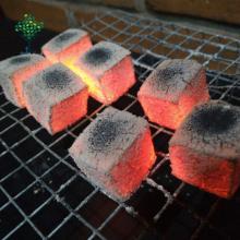 Good Coconut shell briquette shape hookah charcoal for shisha