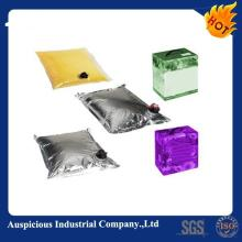 1L/3L/5L/20L/200L/220L Foil Plastic Aseptic Bag With Valve In Box  Liquid   Pouch  For Juice/Red Wine/oi