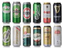 Alcohol & Non Alcoholic Beer (Lager,Export,Cider) Bottle And Can