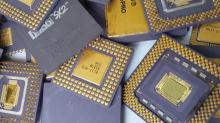 Ceramic CPU Processor Gold Pin
