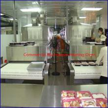 Commercial microwave heating oven for fast food,ready meal heating machine