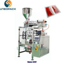 automatic   liquid  sauce  filling  weighing packing  machine