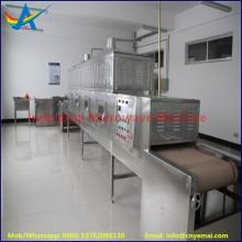 industrail tunnel microwave  drying  sterilization  machine