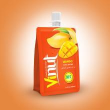 150ml 100% Pouches Mango Juice Drink