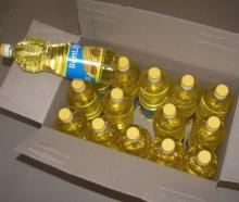 Clean Sunflower Oil