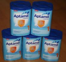 German Aptamil Milk 900g