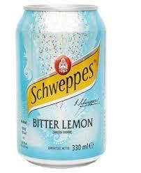 Schweppes orange, lemon, bitter lemon, citrus mix, 330ml