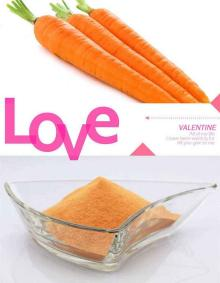 High Quality Natural Dehydrated Carrot Fiber Powder Organic Carrot Powder