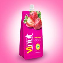 500ml Pouches Strawberry Juice Drink
